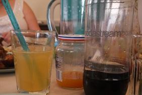 Cantaloupe agua fresca
