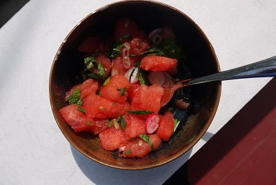 Watermelon and Radish Salad