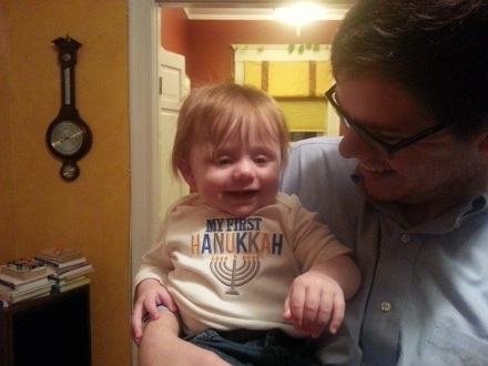 lilli's first chanukah