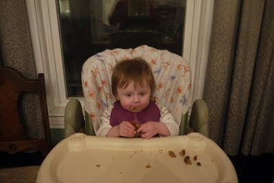Lilli and her muffin