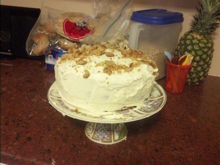 Suede Cake
