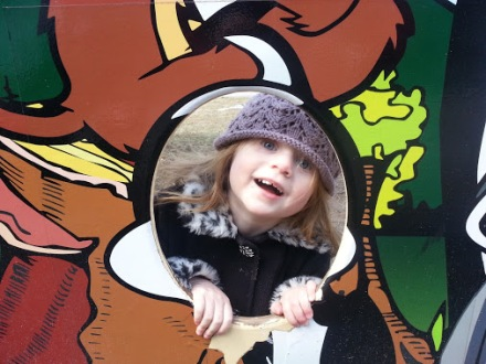 Lilli at zoo