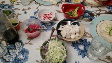 fish taco fixins
